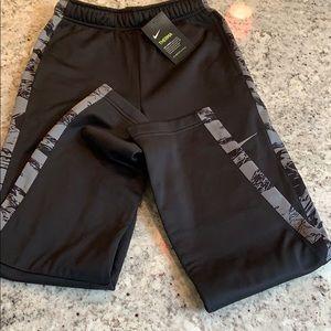 NWT Boy's Thermal Black Nike Pants